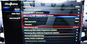 WebinterfaceXBMC