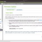 Alte Oberfläche - Firmware Update