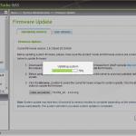 Firmware Update am Laufen