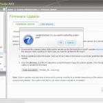 Firmware Update fertig.