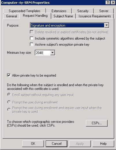 VMware Site Recovery Manager - SSL Zertifikate via Windows CA ...