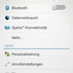 Android 4.3 - Einstellungen