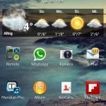 Android 4.2.2 - Startseite