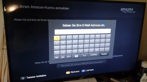 Amazon App im SmartTV