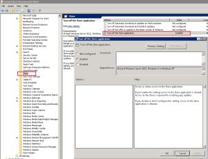 Windows Store - GPO