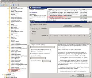 Windows Upate - GPO